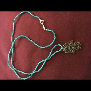 Jewelry - Hamsa Pendant Necklace